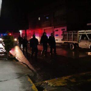 Refuerza Toluca seguridad con recorridos nocturnos en la zona norte