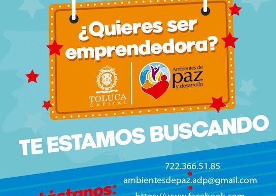 Ofrecen Toluca y organismos internacionales apoyo a emprendedoras