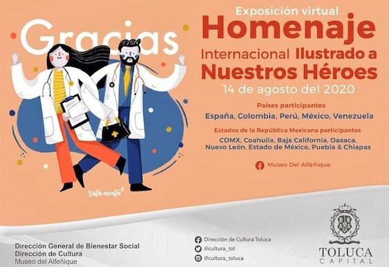 Rinde Toluca homenaje a profesionales de la salud