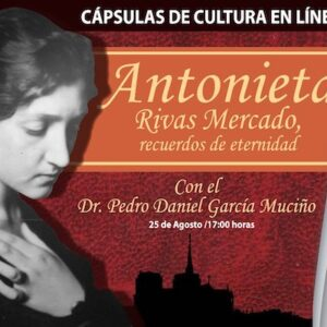 Invita Toluca a conversatorio virtual sobre Antonieta Rivas Mercado