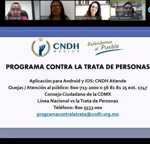 En Toluca, acciones firmes para prevenir la trata de personas