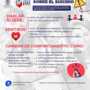 Intensifica Toluca la campaña Abrázate a la vida en la pandemia