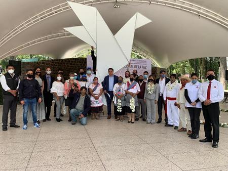 Conmemora Toluca el Día Internacional de la Paz