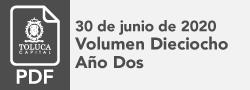 Volumen Dieciocho 2020