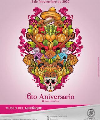 Prepara Museo del Alfeñique extraordinario programa por su 6to. Aniversario