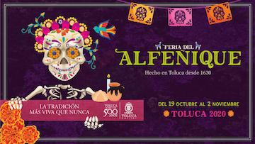 La tradición cobrará vida en Toluca con la Feria del Alfeñique