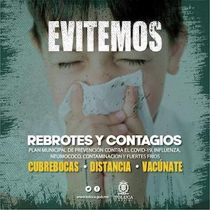 En marcha, Plan Municipal de Prevención otoño-invierno en Toluca