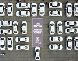 Juan Rodolfo pone en marcha Taxi Capital, único en su tipo en el país