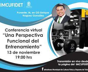 Continúan conferencias virtuales del IMCUFIDET para la comunidad