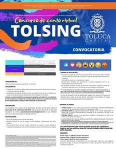 Lanza Toluca concurso de canto Tolsing