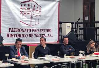 Reconoce Patronato Pro Centro Histórico a Juan Rodolfo por reactivación responsable de la economía