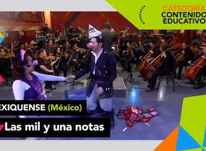 """""""Las mil y una notas"""" de la OFiT, nominado a los premios internacionales TAL 2020"""