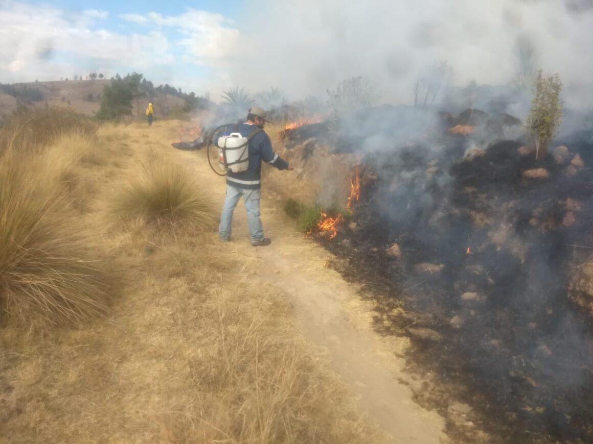 Brigada Forestal de Toluca intensifica tareas de prevención y combate de incendios