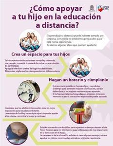 Toluca te dice cómo apoyar a los niños en la educación a distancia