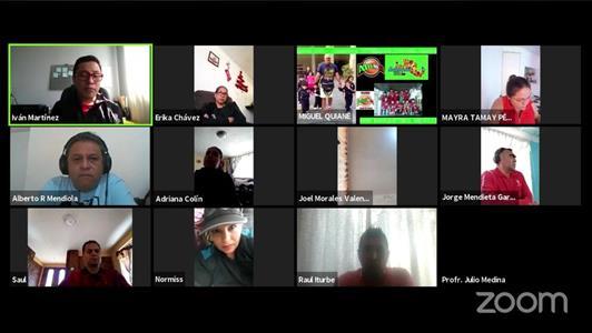 Exitosa capacitación digital en materia de cultura física en Toluca