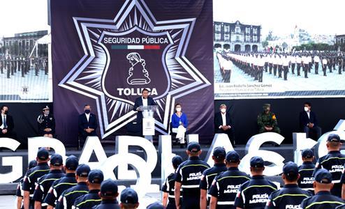 Mejora percepción de seguridad en Toluca