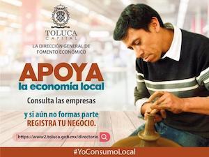 Invita Toluca a consultar el Directorio Empresarial Digital
