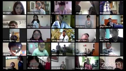 Inicio exitoso en Toluca de la Academia Virtual de Taekwondo