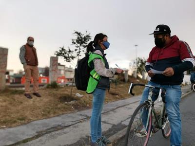 Emprende Toluca campaña para informar a ciclistas sus derechos y obligaciones