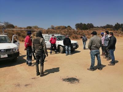 Patrullan autoridades de Toluca y Bienes Comunales zona del Nevado
