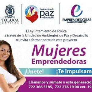 Por su éxito, abrirá Toluca nuevo grupo del programa Mujeres Emprendedoras