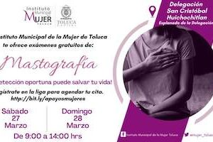 Invita IMM a vecinas de la zona norte a realizarse mastografías gratuitas