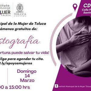 Instituto Municipal de la Mujer continúa ofreciendo mastografías gratuitas
