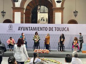 Reconoce gobierno de Toluca a las mujeres indígenas