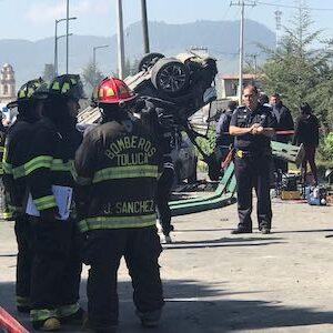 Exhortan autoridades de Toluca a conducir con precaución para evitar incidentes viales