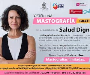 Con mastografías gratuitas, Toluca salva vidas