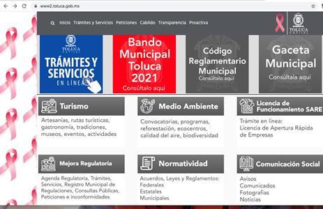 Un éxito la Plataforma de Gestión de Trámites Gubernamentales en Línea de Toluca