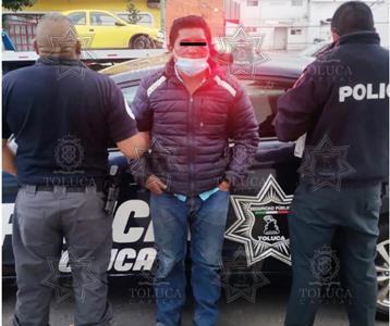 Con apoyo de la población, Policía Toluca detiene a presunto responsable del delito de robo